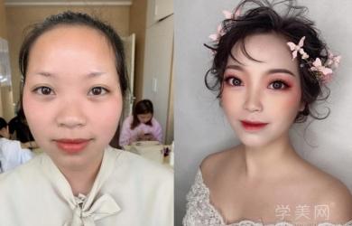 重庆华蔓化妆专业造型尖端班